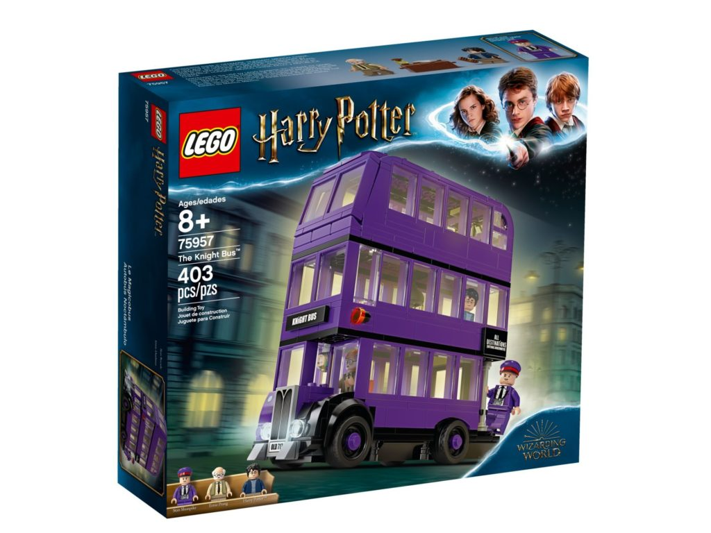 LEGO® Harry Potter™ 75957 The Knights Bus - Packung, Vorderseite | ©LEGO Gruppe