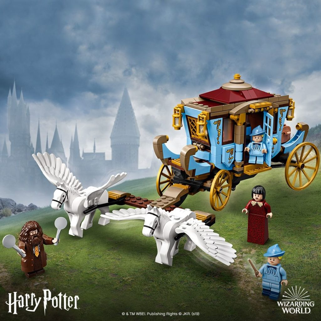 LEGO® Harry Potter™ 75958 Beauxbatons Kutsche: Ankunft in Hogwarts - FB | ©LEGO Gruppe