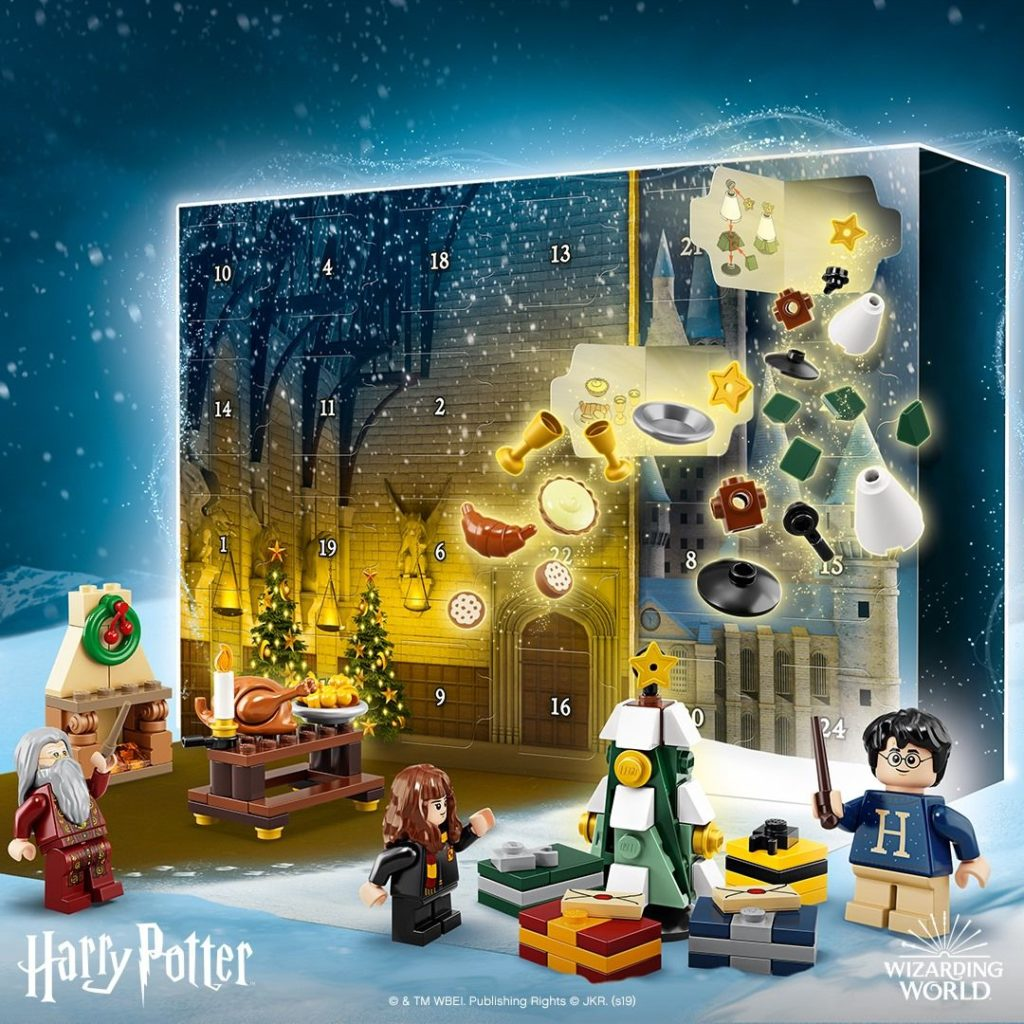 LEGO® Harry Potter™ 75964 Harry Potter Adventskalender - FB | ©LEGO Gruppe