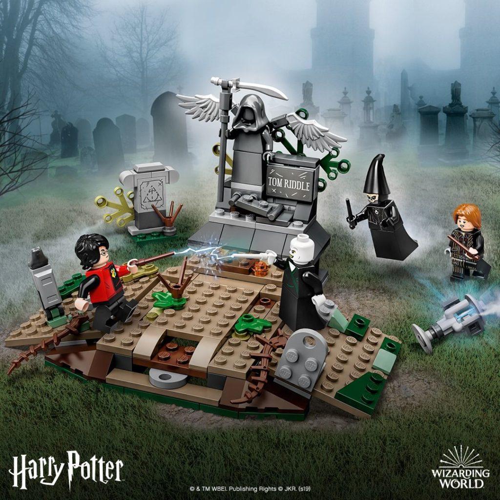LEGO® Harry Potter™ 75965 Der Aufstieg von Voldemort - FB | ©LEGO Gruppe