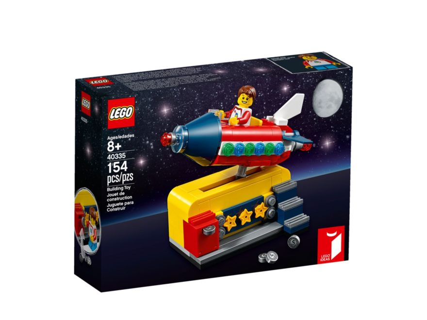 LEGO Ideas 40335 Space Rocket Ride | ©LEGO Gruppe