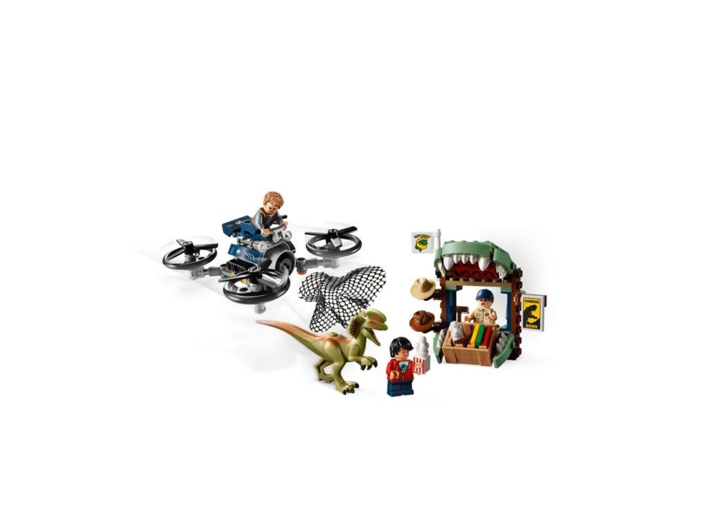 LEGO® Jurassic World 75934 Dilophosaurus auf der Flucht | ©LEGO Gruppe