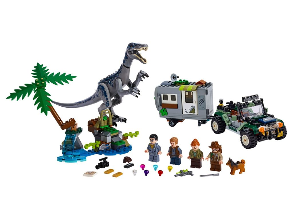 LEGO® Jurassic World 75935 Baryonyxs Kräftemessen: die Schatzsuche | ©LEGO Gruppe