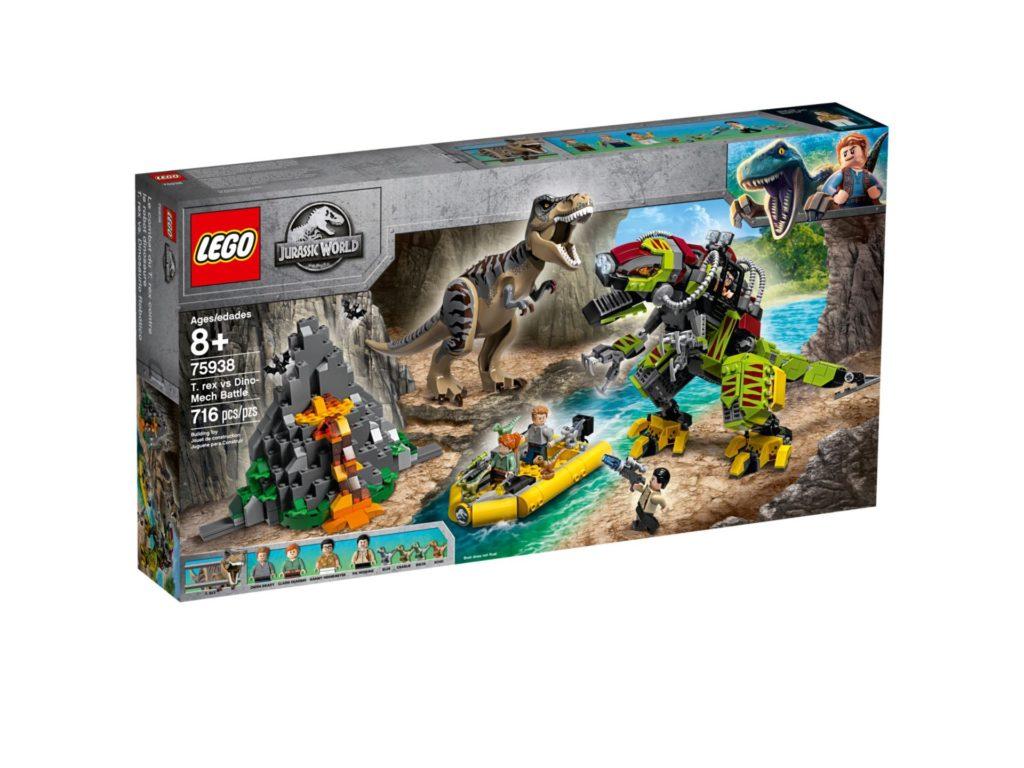 LEGO® Jurassic World 75938 T. rex vs. Dino-Mech | ©LEGO Gruppe