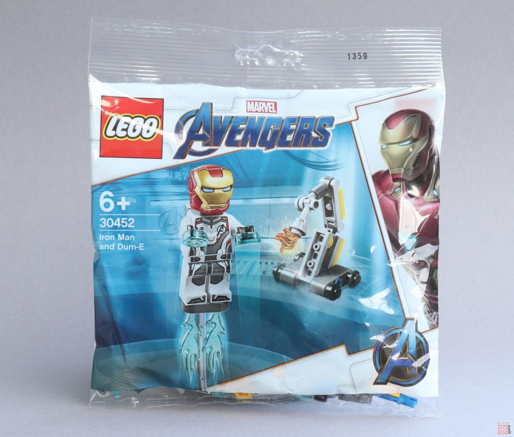 LEGO® Marvel 30452 Iron Man und Dum-E - Polybag | ©2019 Brickzeit