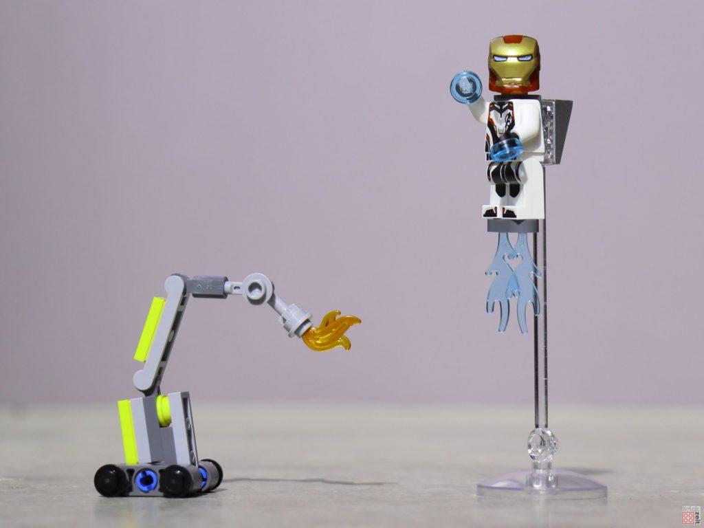 LEGO® Marvel 30452 Iron Man und Dum-E | ©2019 Brickzeit