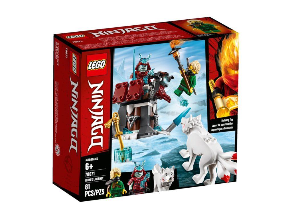 LEGO® NINJAGO® 70671 Angriff des Eis-Samurai | ©LEGO Gruppe