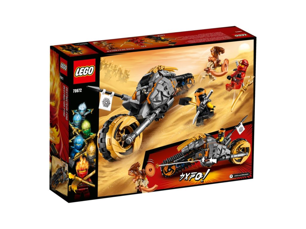 LEGO® NINJAGO® 70672 Coles Offroad-Bike | ©LEGO Gruppe