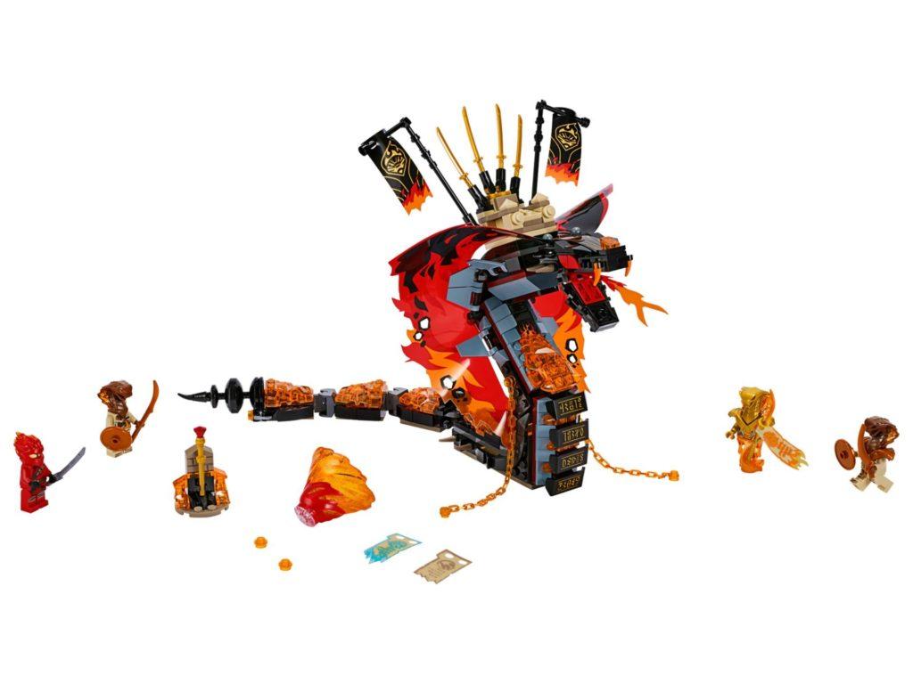 LEGO® NINJAGO® 70674 Feuerschlange | ©LEGO Gruppe
