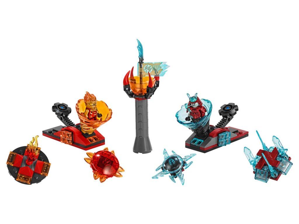 LEGO® NINJAGO® 70684 Spinjitzu Slam - Kai vs. Eis-Samurai | ©LEGO Gruppe