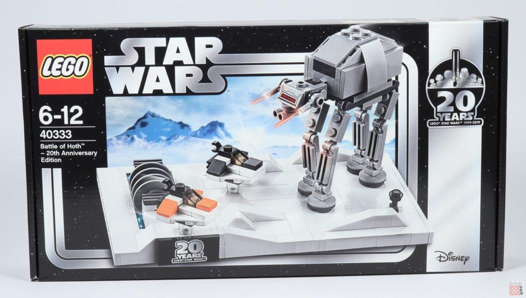 LEGO® Star Wars™ 40333 Schlacht um Hoth - Packung, Vorderseite | ©2019 Brickzeit