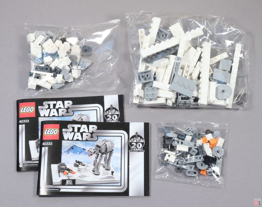 LEGO® Star Wars™ 40333 Schlacht um Hoth - Inhalt | ©2019 Brickzeit