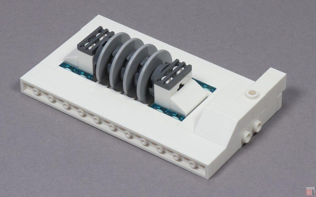 LEGO® Star Wars™ 40333 Schlacht um Hoth - 1. Platte mit Schildgenerator | ©2019 Brickzeit