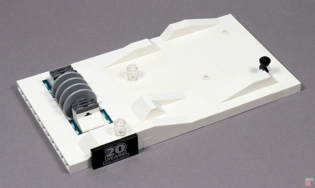 LEGO® Star Wars™ 40333 Schlacht um Hoth - fertiges Schneefeld | ©2019 Brickzeit