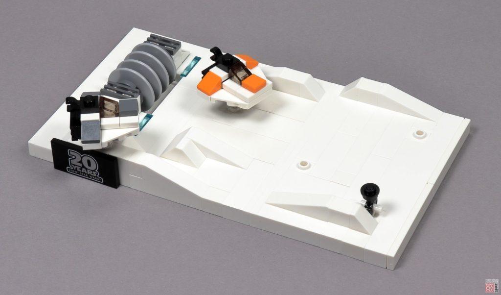 LEGO® Star Wars™ 40333 Schlacht um Hoth - Mini Snowspeeder auf Schneefeld | ©2019 Brickzeit