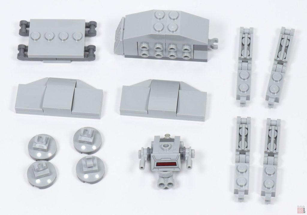 LEGO® Star Wars™ 40333 Schlacht um Hoth - AT-AT in Einzelteilen | ©2019 Brickzeit