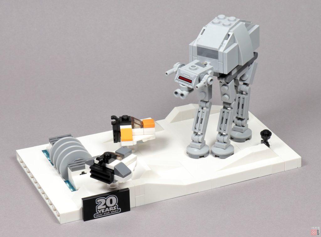 LEGO® Star Wars™ 40333 Schlacht um Hoth - fertig, Bild 1 | ©2019 Brickzeit