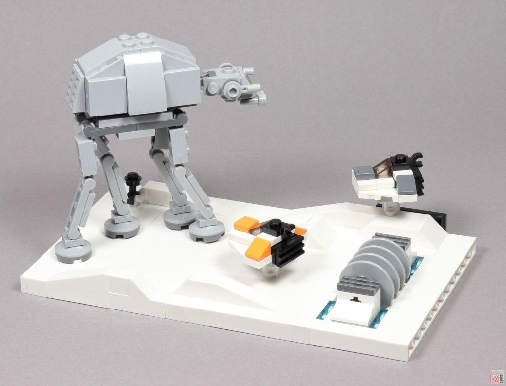 LEGO® Star Wars™ 40333 Schlacht um Hoth - fertig, Bild 2 | ©2019 Brickzeit