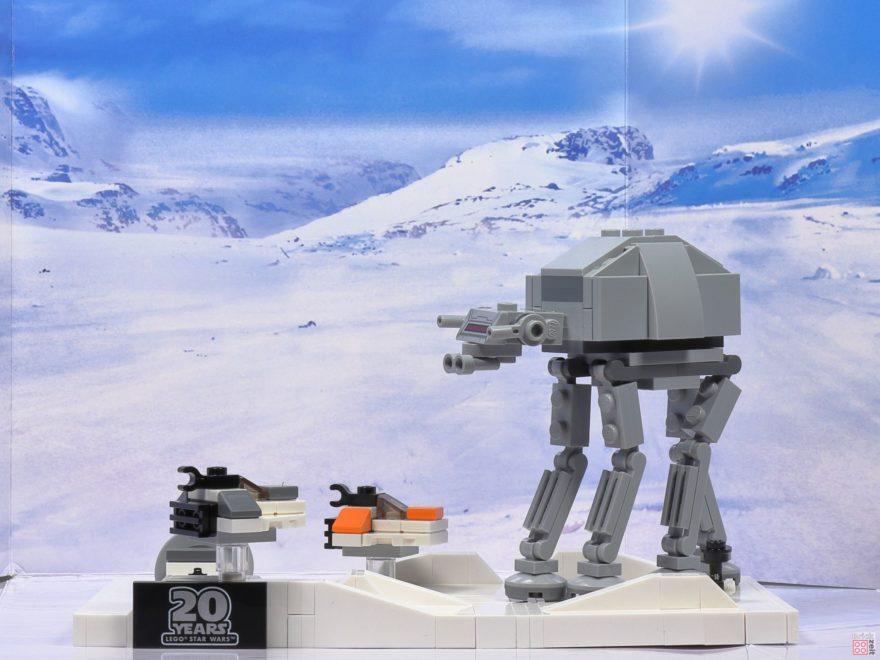 LEGO® Star Wars™ 40333 Schlacht um Hoth vor Schneelandschaft 1 | ©2019 Brickzeit