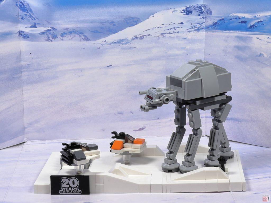 LEGO® Star Wars™ 40333 Schlacht um Hoth vor Schneelandschaft 2 | ©2019 Brickzeit