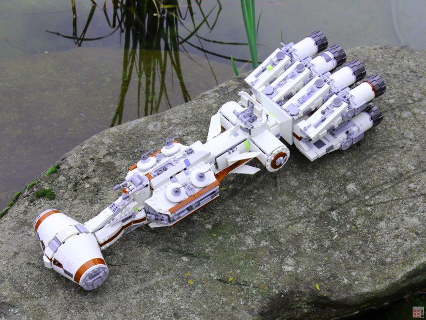 LEGO 75244 - Tantive IV auf Insel 2 | ©2019 Brickzeit