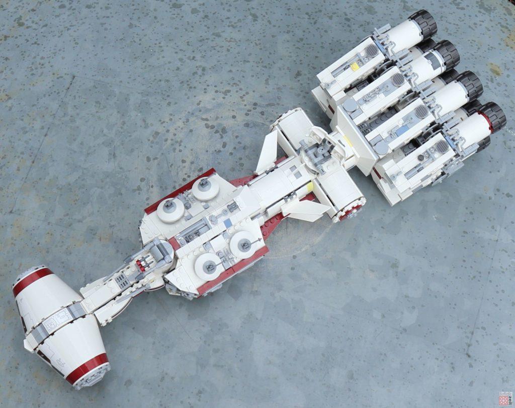 LEGO 75244 - Tantive IV auf Landeplattform | ©2019 Brickzeit