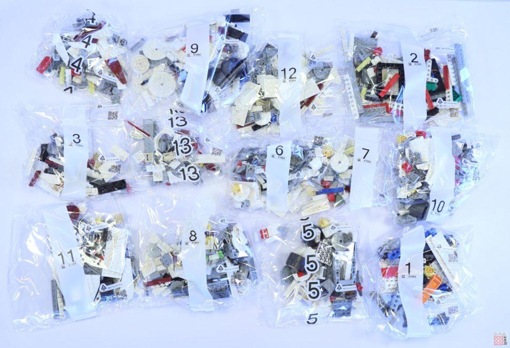 LEGO® Star Wars™ 75244 - 13 Tütchen mit Bausteinen | ©2019 Brickzeit