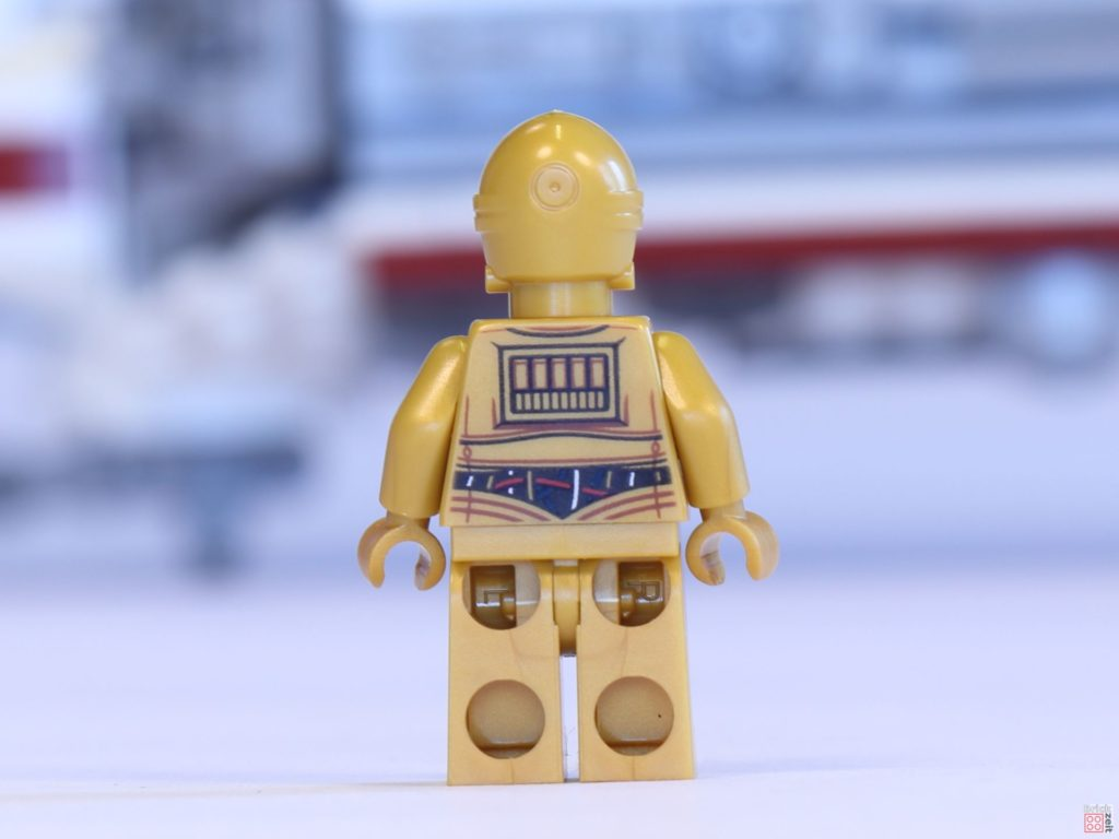 LEGO® 75244 - C-3PO, Rückseite | ©2019 Brickzeit