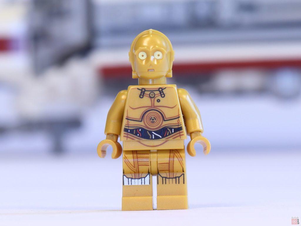 LEGO® 75244 - C-3PO, Vorderseite | ©2019 Brickzeit