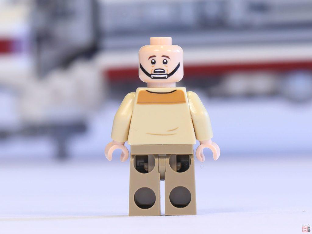 LEGO® 75244 - Captain Raymus Antilles ohne Helm, Rückseite | ©2019 Brickzeit