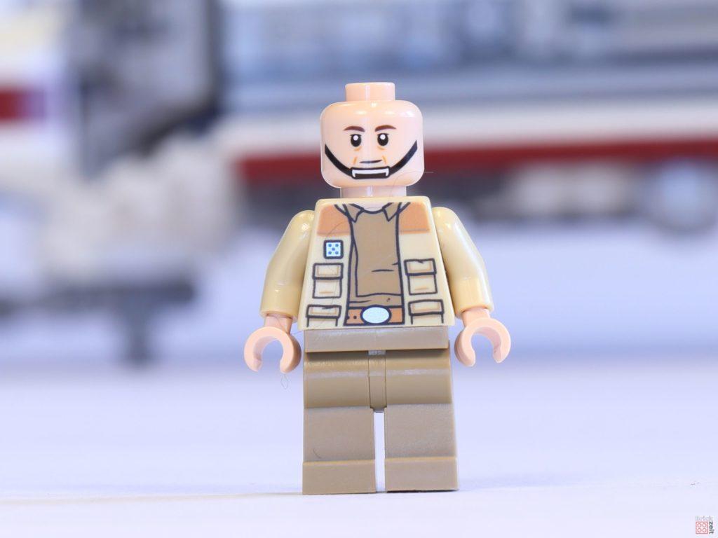LEGO® 75244 - Captain Raymus Antilles ohne Helm, Vorderseite | ©2019 Brickzeit