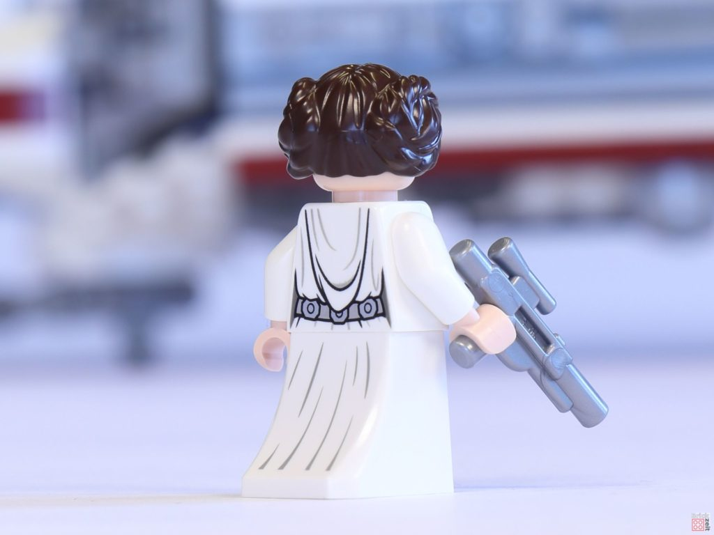 LEGO® 75244 - Prinzessin Leia Organa mit Rock und Blaster, Rückseite | ©2019 Brickzeit