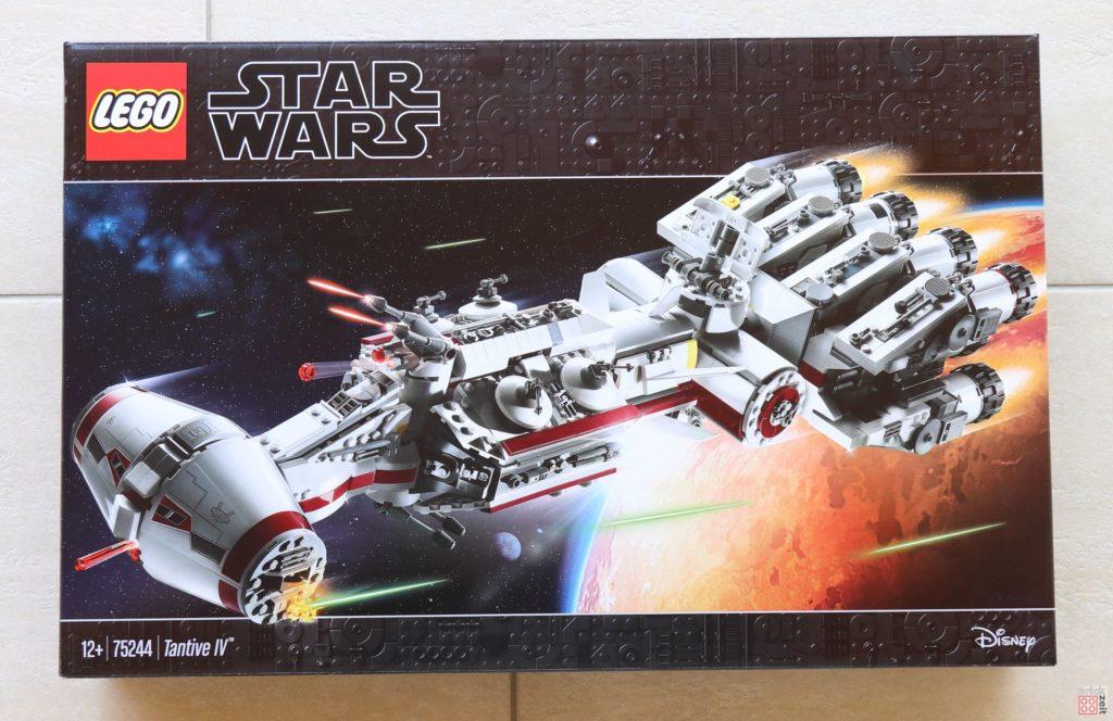 LEGO® Star Wars™ 75244 Tantive IV - Packung Vorderseite | ©2019 Brickzeit