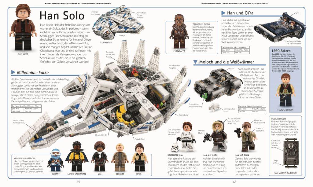 LEGO® Star Wars™ Lexikon der Figuren, Raumschiffe und Droiden Neuausgabe 2019 - Beispielseite 2 | ©DK-Verlag