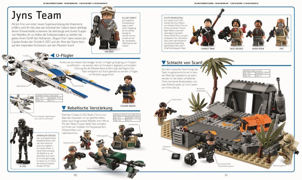 LEGO® Star Wars™ Lexikon der Figuren, Raumschiffe und Droiden Neuausgabe 2019 - Beispielseite 3 | ©DK-Verlag