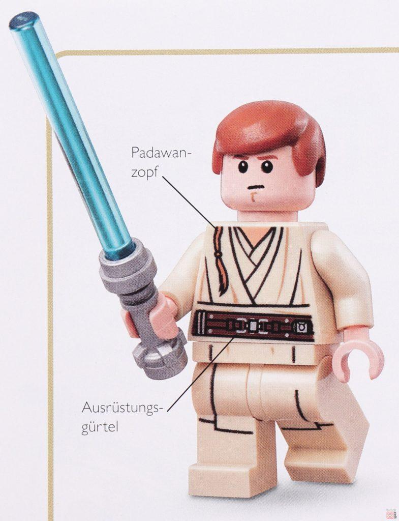 Review - LEGO® Star Wars™ Lexikon der Figuren, Raumschiffe und Droiden Neuausgabe 2019 - Detailbild Obi-Wan Kenobi | ©2019 Brickzeit