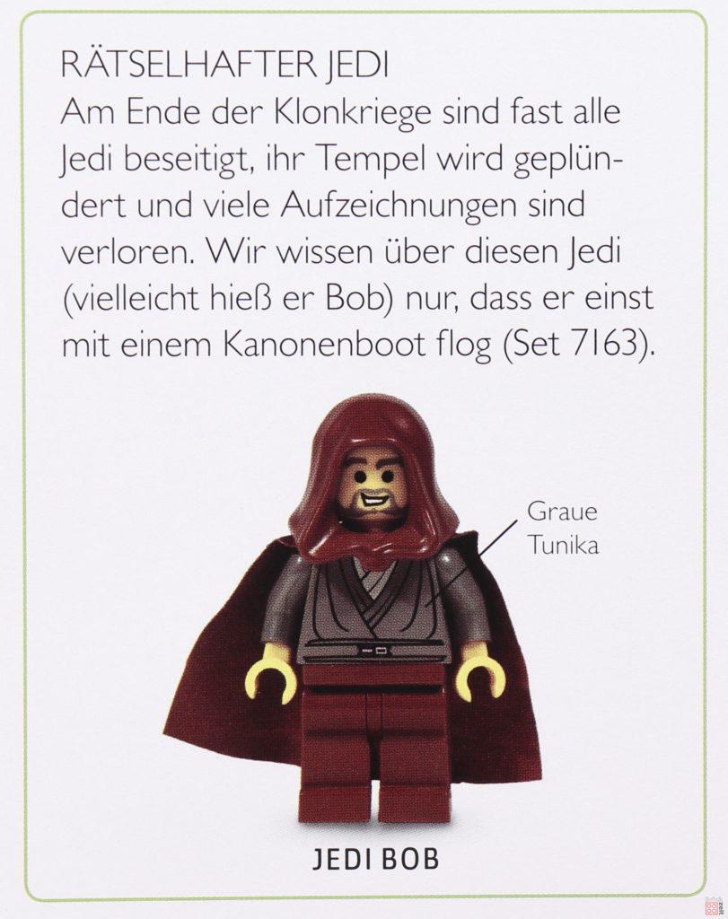 Review - LEGO® Star Wars™ Lexikon der Figuren, Raumschiffe und Droiden Neuausgabe 2019 - Detailbild Jedi Bob | ©2019 Brickzeit
