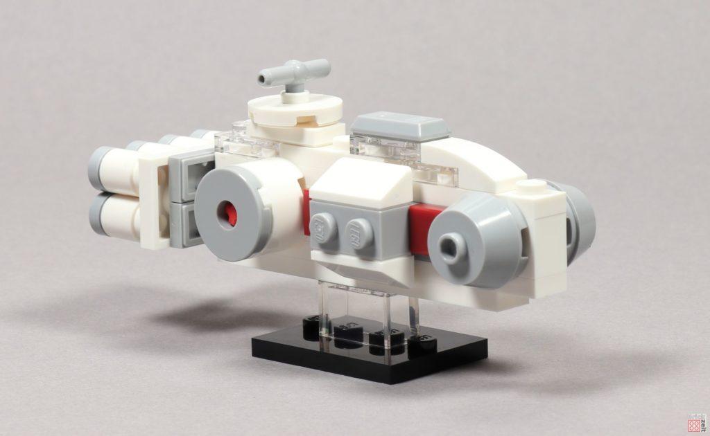 LEGO® Star Wars™ Mini Tantive IV - vorne, links | ©2019 Brickzeit