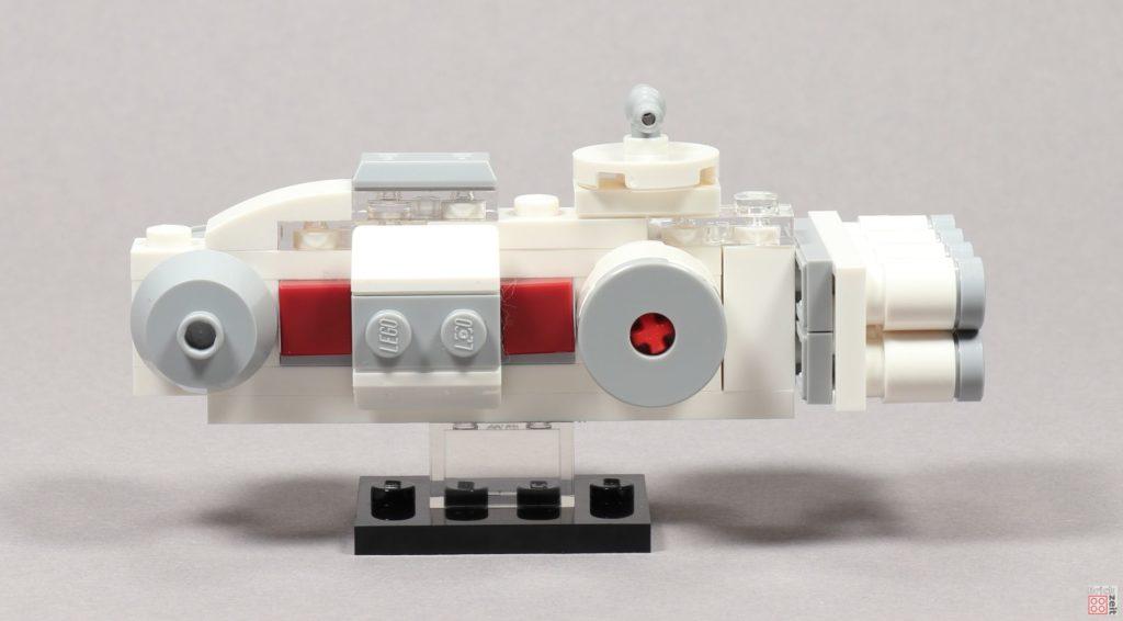 LEGO® Star Wars™ Mini Tantive IV - linke Seite | ©2019 Brickzeit