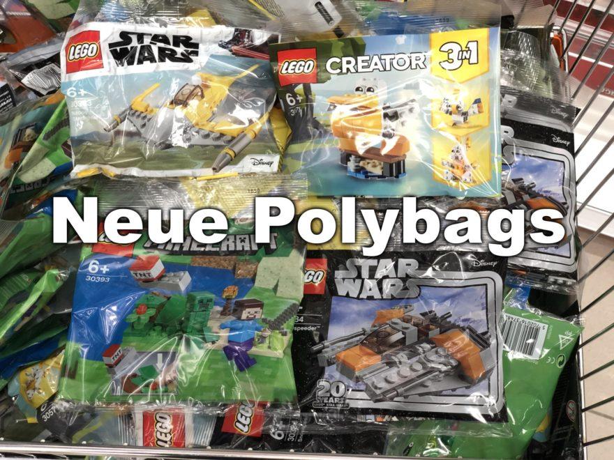 Neue LEGO Polybags bei Mueller (Mai 2019) - Titelbild | ©Brickzeit