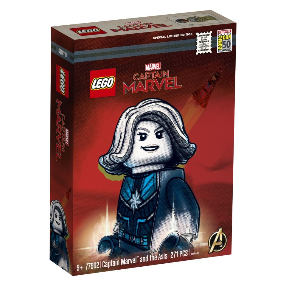 LEGO 77902 Captain Marvel and the Asis - Bild 1 | ©LEGO Gruppe
