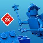 Doppelte LEGO VIP Punkte - blaue Figur | ©LEGO Gruppe