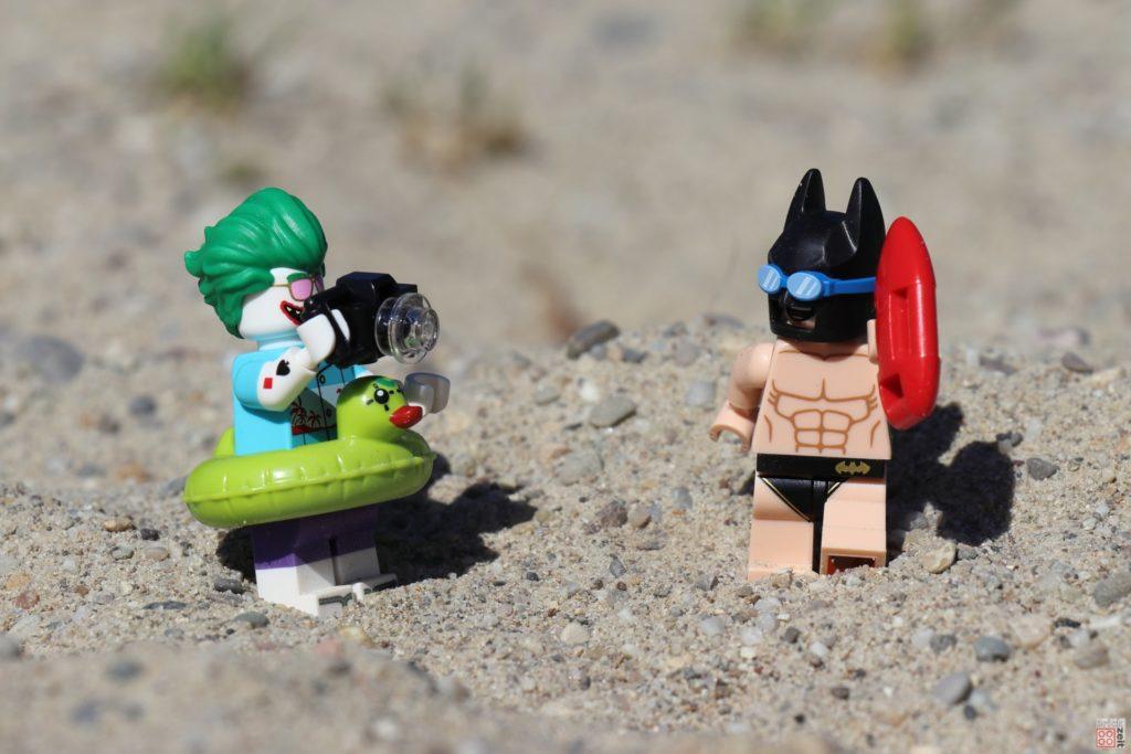 LEGO® Batman beim Bat-Watch Foto-Shooting | ©2019 Brickzeit