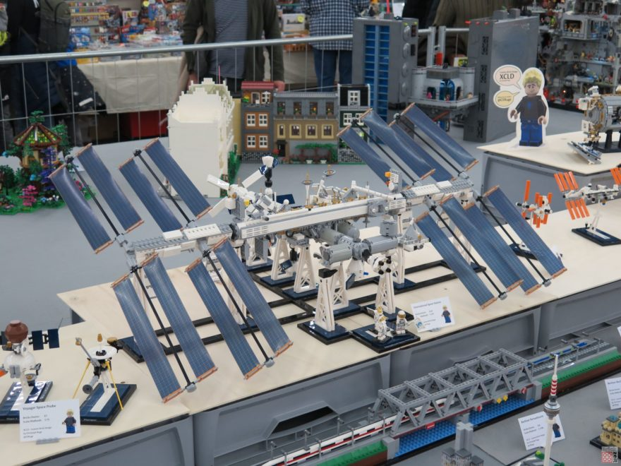 International Space Station von XCLD auf der Bricking Bavaria | ©2018 Brickzeit