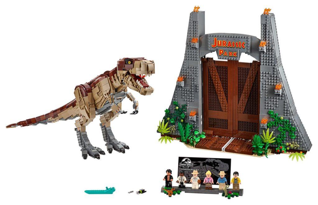 LEGO® 75936 Jurassic Park T.Rexs Verwüstung | ©LEGO Gruppe