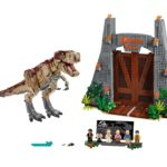 LEGO® 75936 Jurassic Park T.Rexs Verwüstung - Titelbild | ©LEGO Gruppe