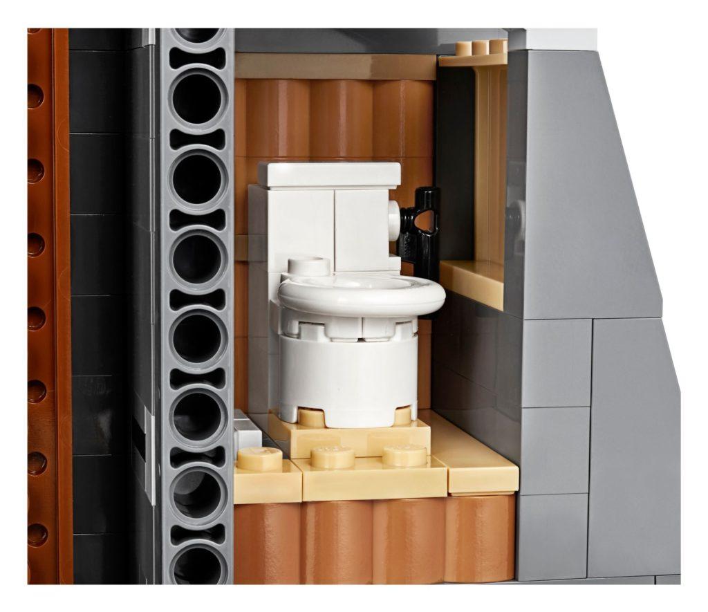 LEGO® 75936 - Toilettenhäuschen | ©LEGO Gruppe