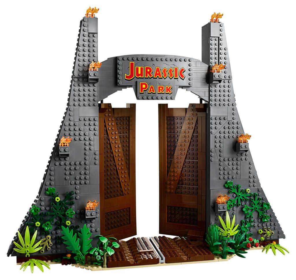 LEGO® 75936 - Eingangstor Jurassic Park | ©LEGO Gruppe