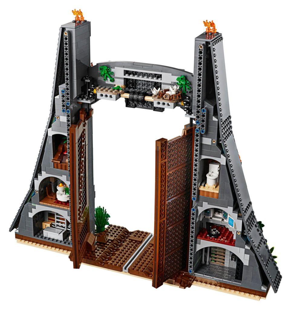 LEGO® 75936 - Eingangstor Jurassic Park, Rückseite | ©LEGO Gruppe
