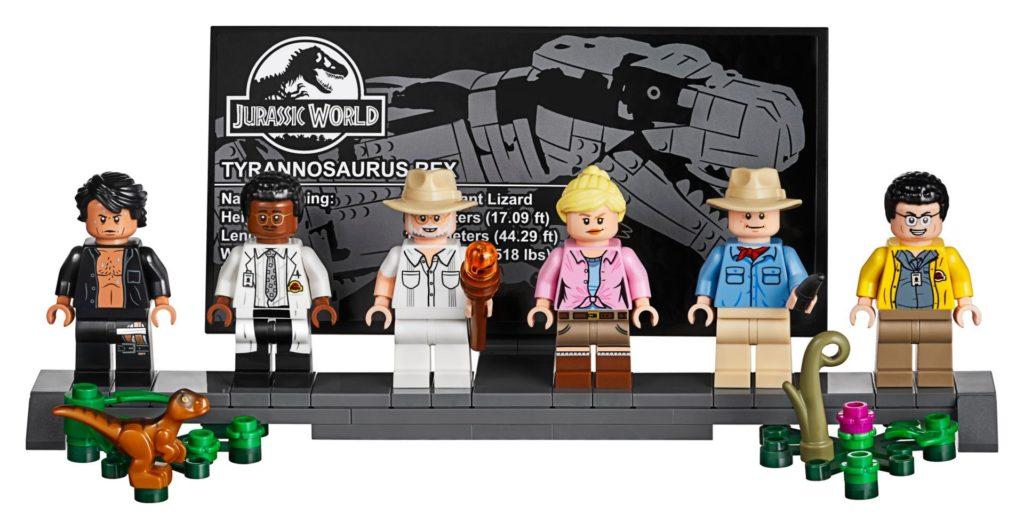 LEGO® 75936 - Präsentationsständer | ©LEGO Gruppe